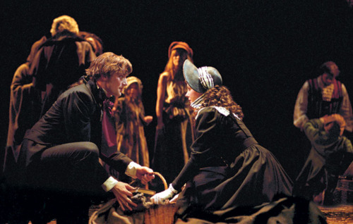 Los miserables encuentro Marius Cosette