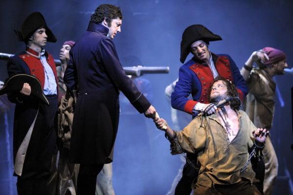 Valjean Javert Los Miserables España