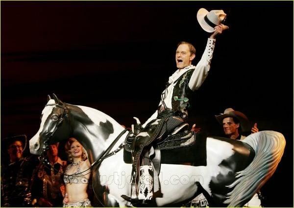 """David Hyde Pierce por la que ganaría el Tony en """"Curtains"""""""