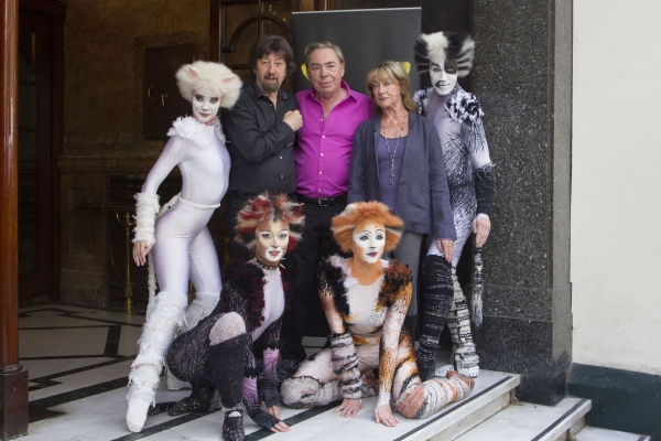 Trevor Nunn, Andrew Lloyd Webber y Gillian Lynne