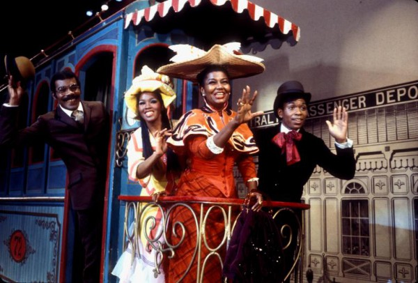 Pearl Bailey es Dolly Levi liderando reparto con sólo gente de color de 1978