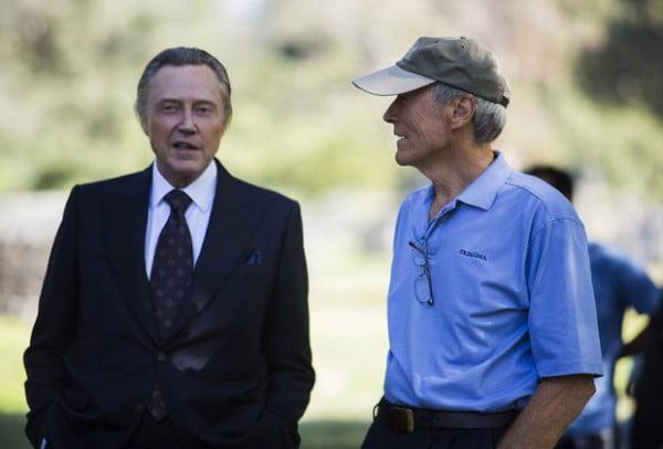 Christopher Walken con Clint Eastwood en un momento del rodaje