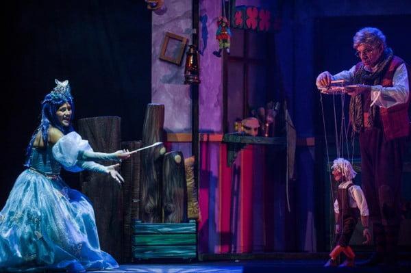 Paula Sebastián y Enric Juezas como el Hada Azul y Gepetto