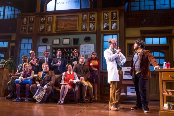 Alex Brightman and the adult ensemble of School of Rock - The Musical Photo by Matthew Murphy