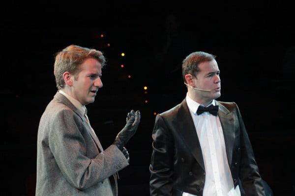 Xavi Duch e Ivan Labanda como Joe y Jerry