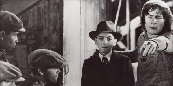 """Alan Parker dirigiendo su primera película """"Bugsy Malone"""""""