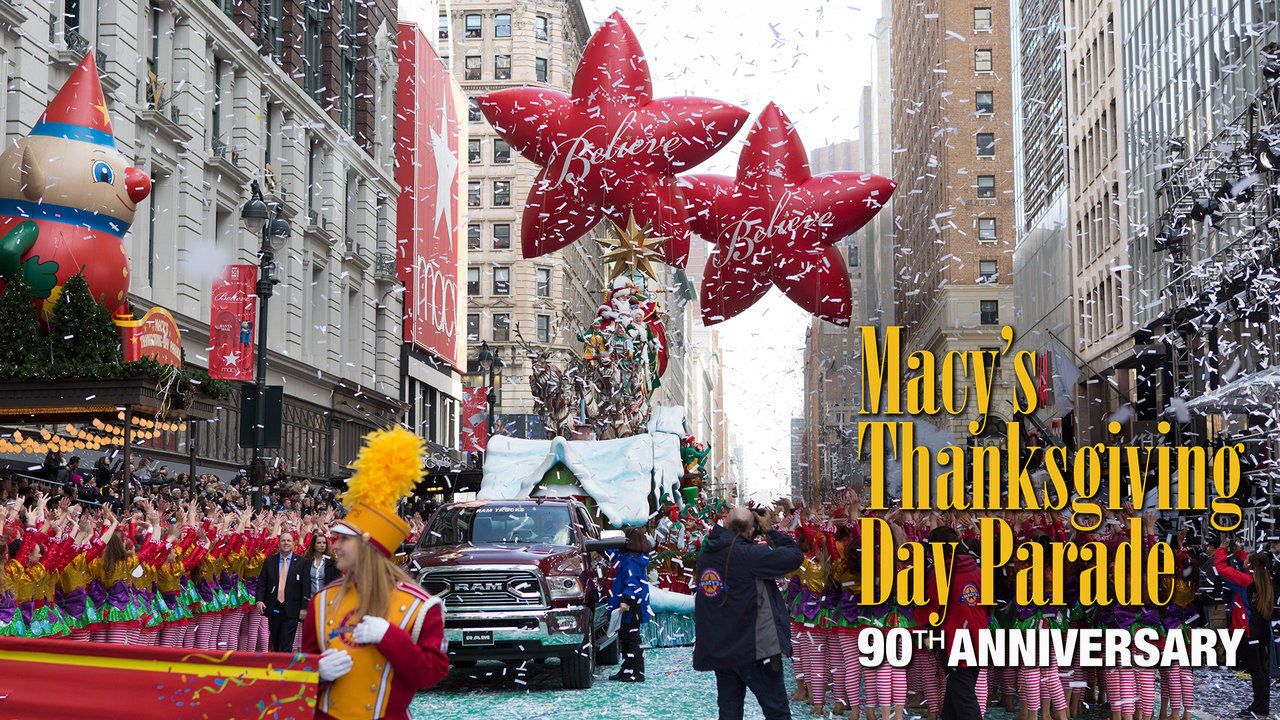 MACY\'s Thanksgiving Day Parade 2016 - love for musicals